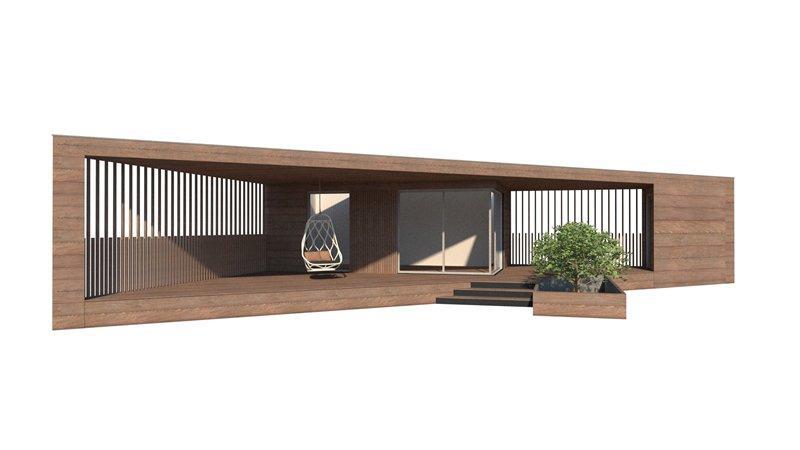 Crannog Garden Rooms Ireland - Sheelin Home Office
